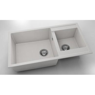 Кухненска мивка с две корита 90х49см от фатгранит 234
