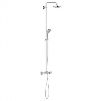 Душ система с термостат за вана за стенен мотаж Euphoria System 180 27475000