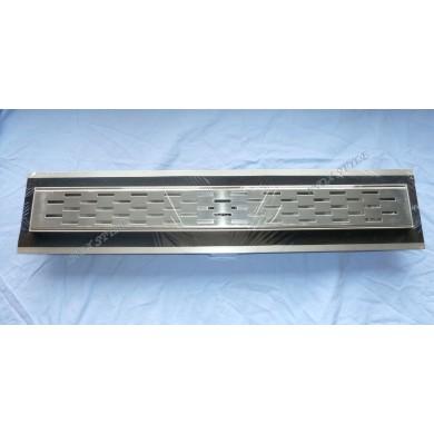 Линеен сифон с хидроизолация правоъгълник 485/80/80
