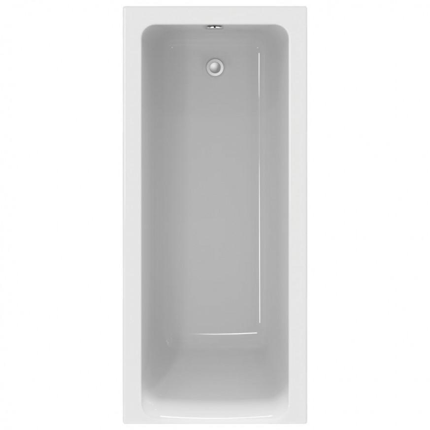 Правоъгълна вана за вграждане 170x75 cm Connect Air E106401