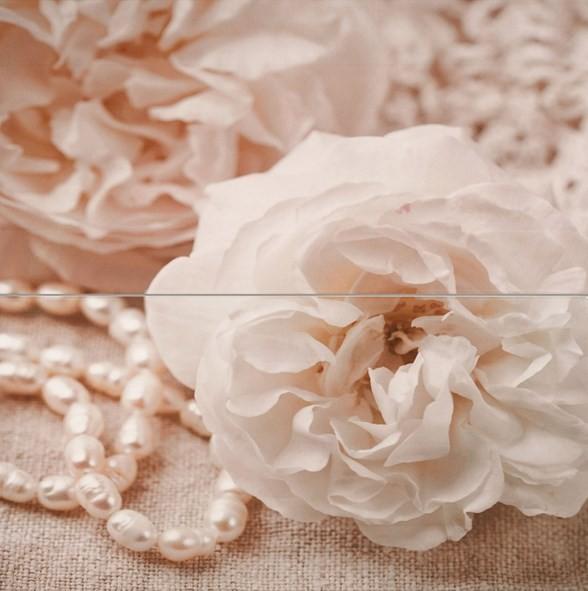 Декор 50х50 Бали Роза с перли 2 части