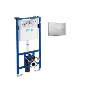 Промоционален комплект Структура Duplo 89009000K WC+бутон 890096001