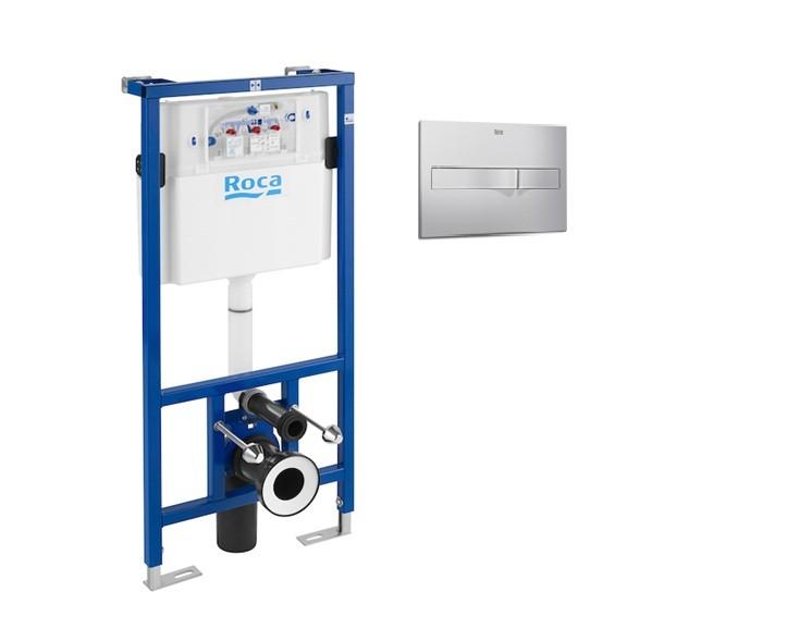 Промоционален комплект Структура Duplo 890090020 WC+бутон 890096001