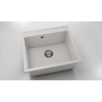 Единична мивка 56х51 см от фатгранит 226