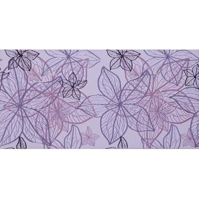 Декор 25х50 Изола цветя лилав