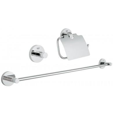 Koмплект аксесоари за баня 3 в 1 Essentials 40775001