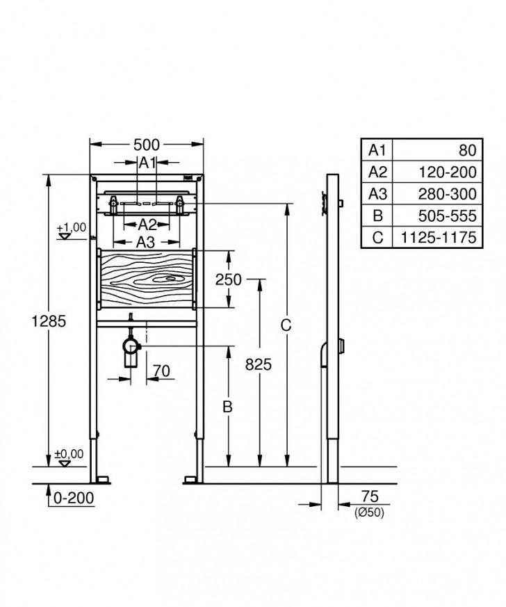 Rapid SL за стенен смесител 38544000